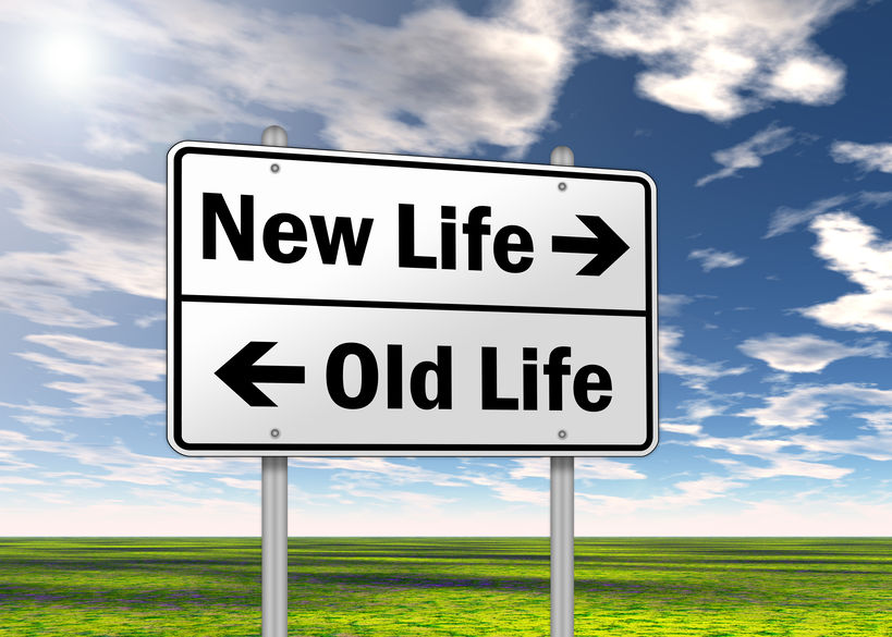 Transition from one way of life to another. Changing the way you live